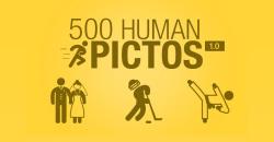 500 Human Pictos