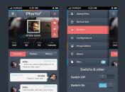 Phortio Mobile App UI