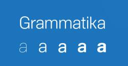 Font AS Grammatika
