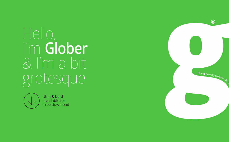Font Glober
