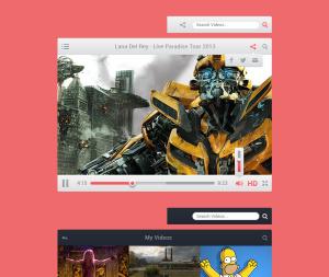 Viro Media Player UI