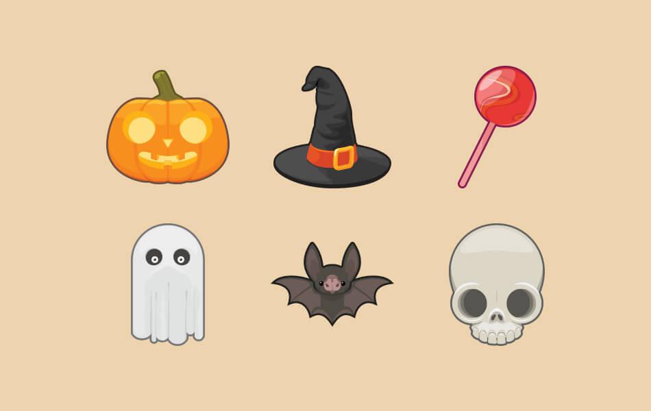 6 Halloween Icons