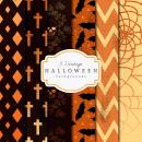 6 Vintage Halloween Backgrounds