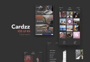Cardzz iOS UI Kit
