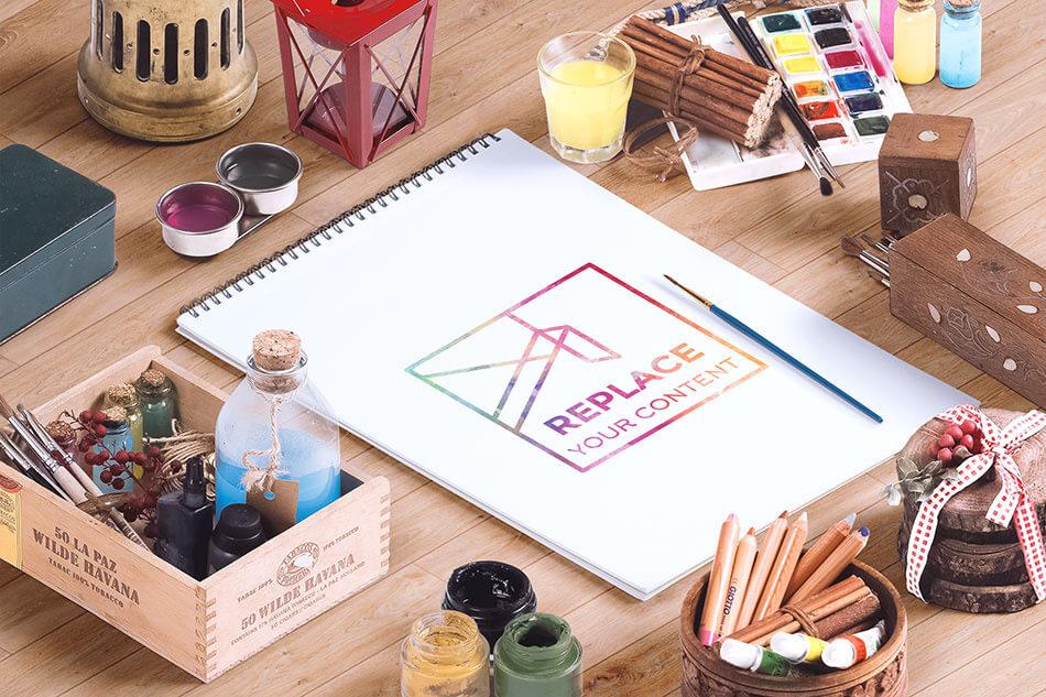 Free Demo Isometric Art Equipments Hero Image 01