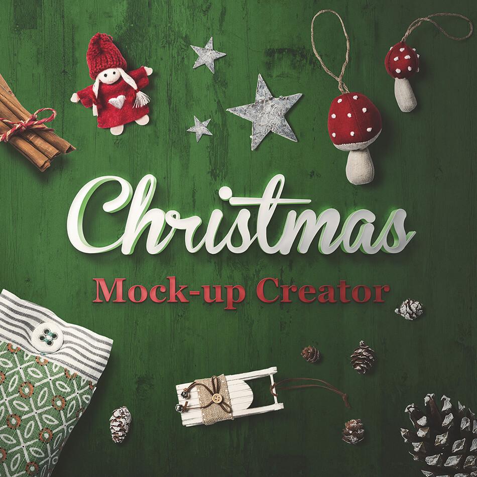 Christmas Mockup Creator