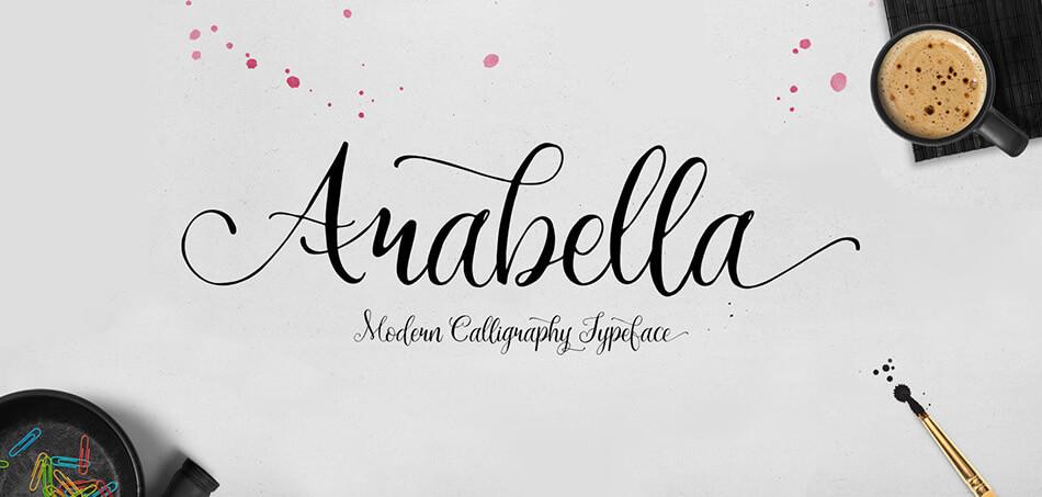 Font Arabella