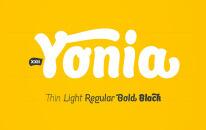 Font XXII Yonia
