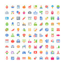 100 Free Cosmo Color Vector Icons