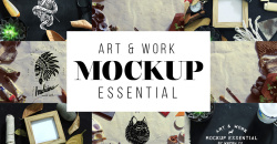 Art & Work Essential Mockup