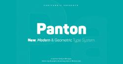 Font Panton