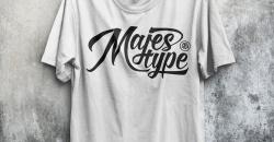 Majestype Realistic T-Shirt Mockup