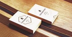 Thomsoon Business Card Mockup