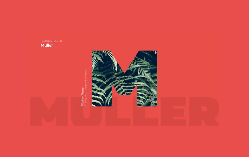Font Muller