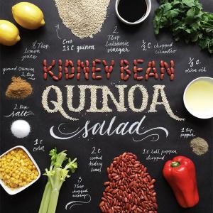 Food Art Typography Lettering Becca Clason