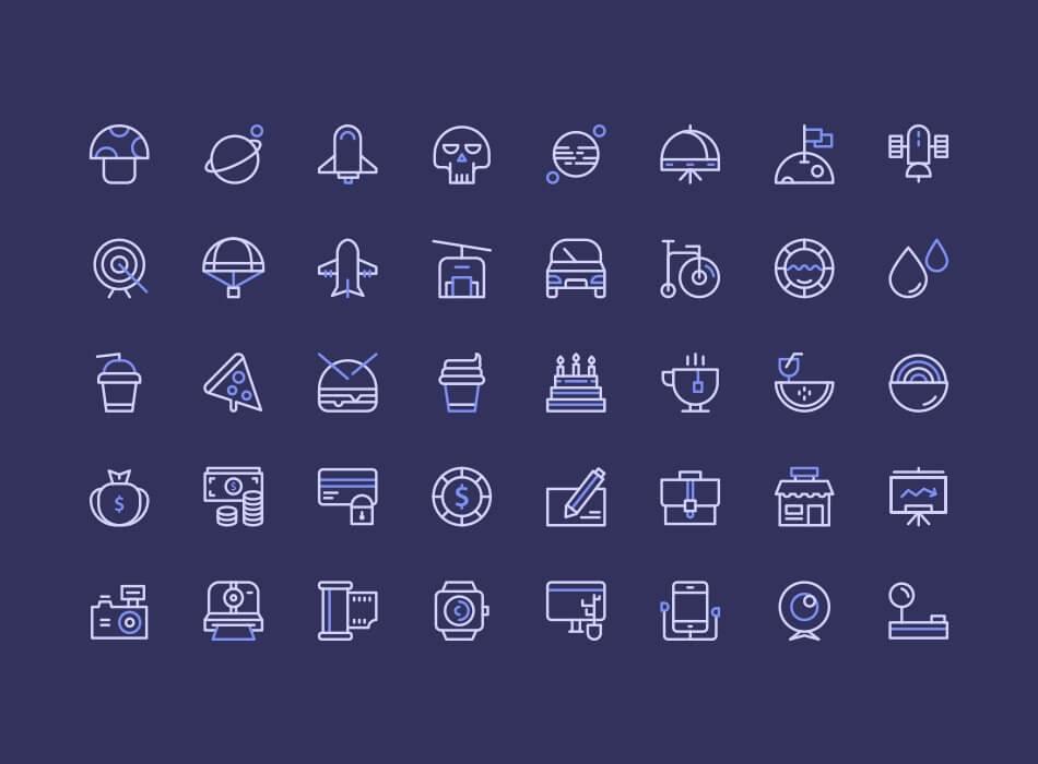 Birply Icons Set