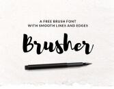 Font Brusher