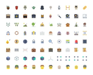 200 Flat Icons From Smashicons