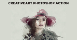 Creativeart Photoshop Action