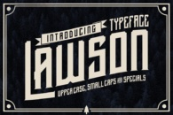 Font Lawson Typface