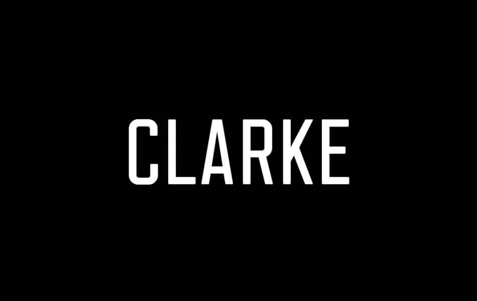 Font Clarke