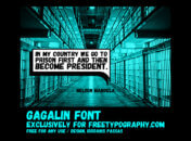 Font Gagalin