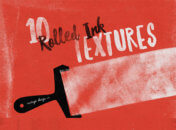 10 Rolled Ink Textures