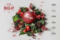 Christmas Ball Mock-Up 2