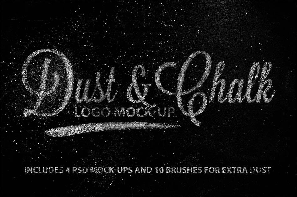 Dust & Chalk Logo Mock-up