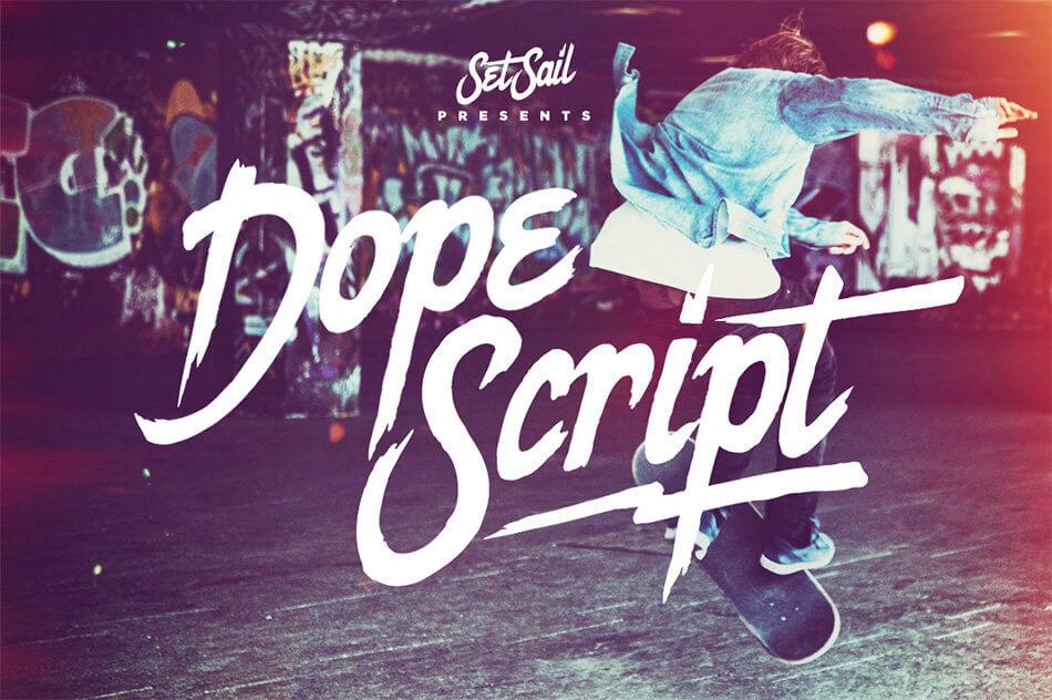 Font Dope Script