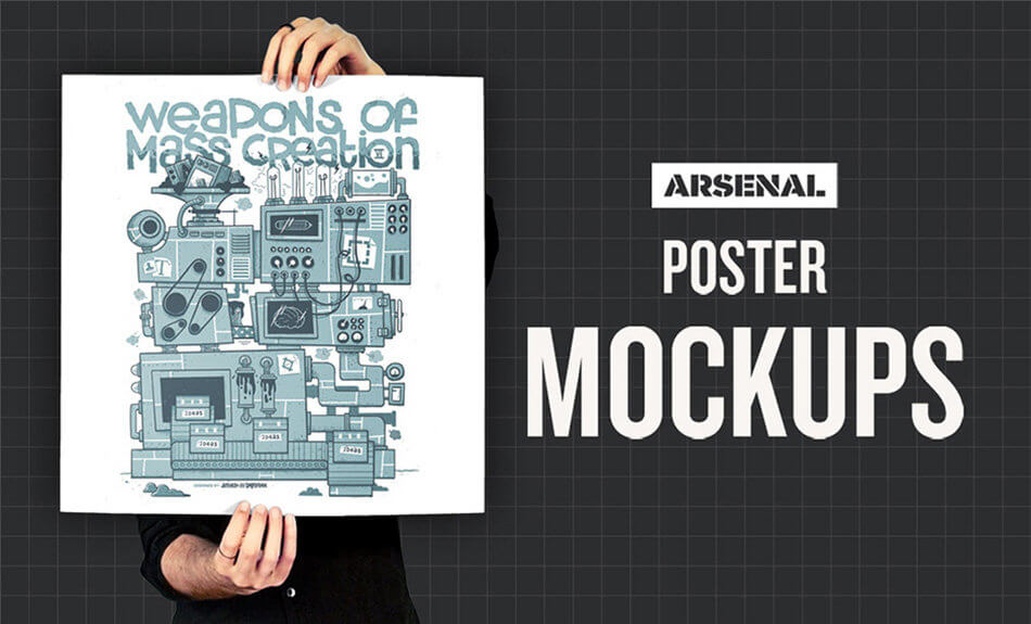Poster Mockup Templates Pack