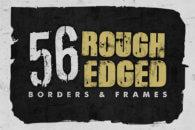 Rough Edged Borders Frames