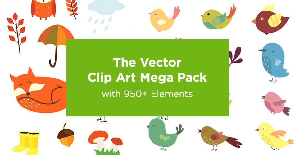 The Vector Clip Art Mega Pack