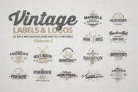 Vintage Labels & Logos Vol.3