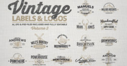 Vintage Labels & Logos Vol.3