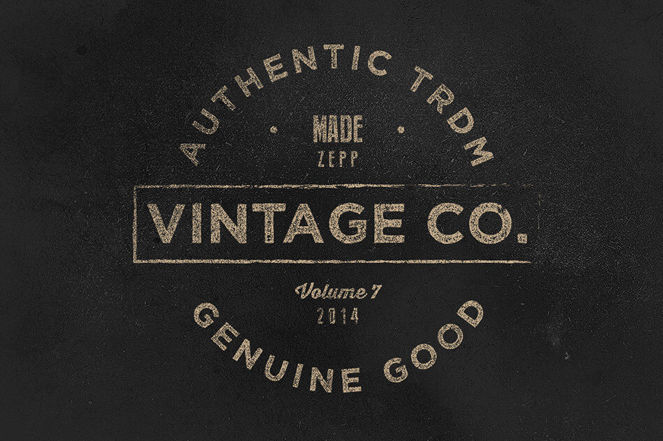 Vintage Labels & Logos Vol.7