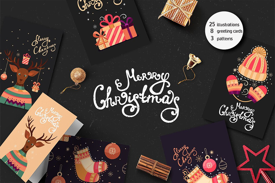 Christmas Cards & Illustrations