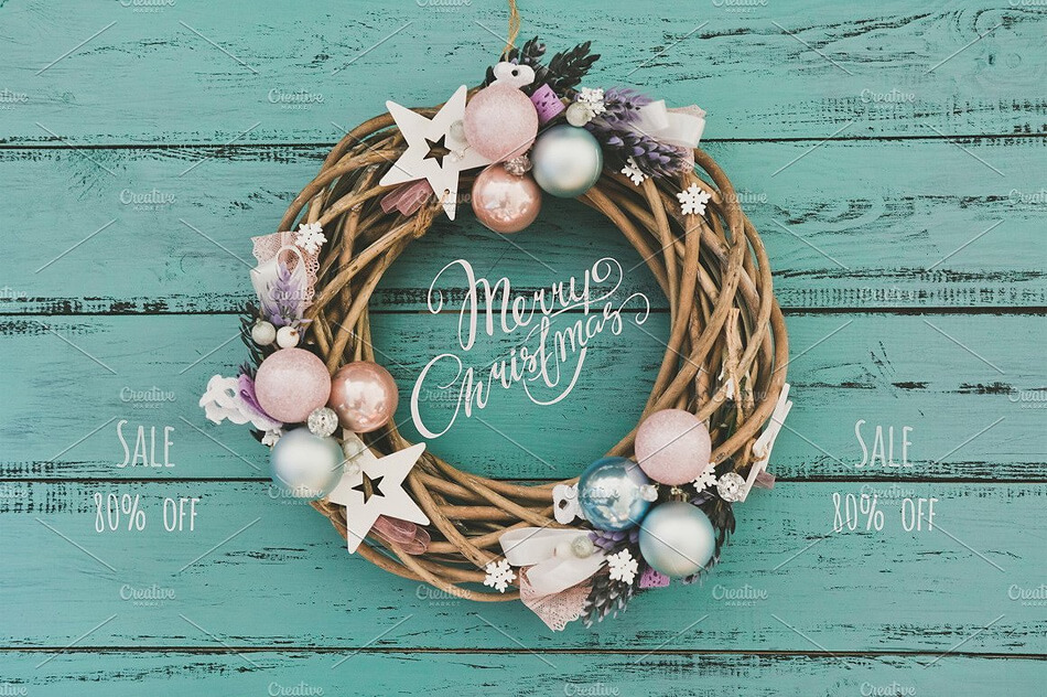 Christmas Wreath Bundle 15 in 1
