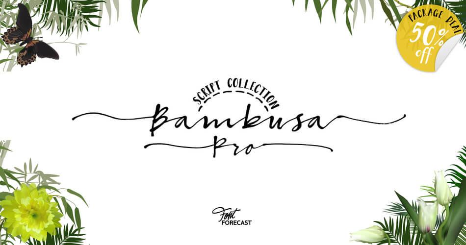 Font Bambusa Pro