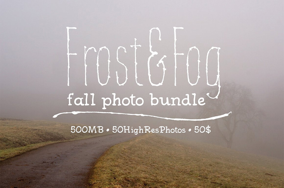 Frost & Fog Photo Bundle