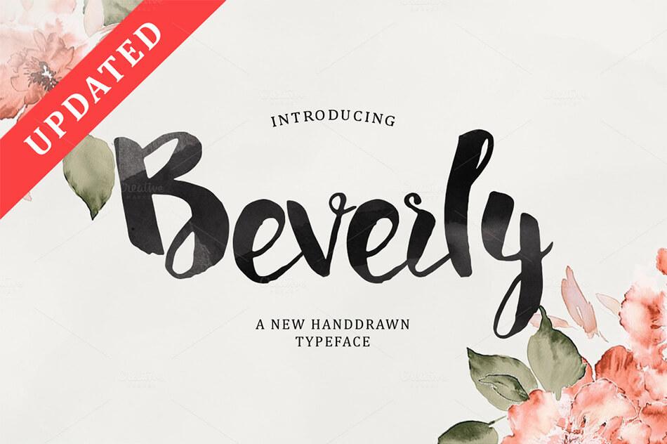 Beverly Script
