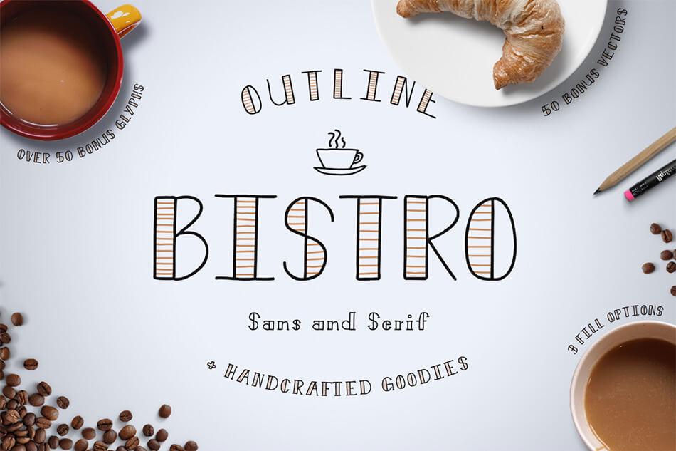 Bistro Sans & Serif
