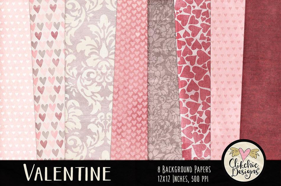 Valentine Background Textures