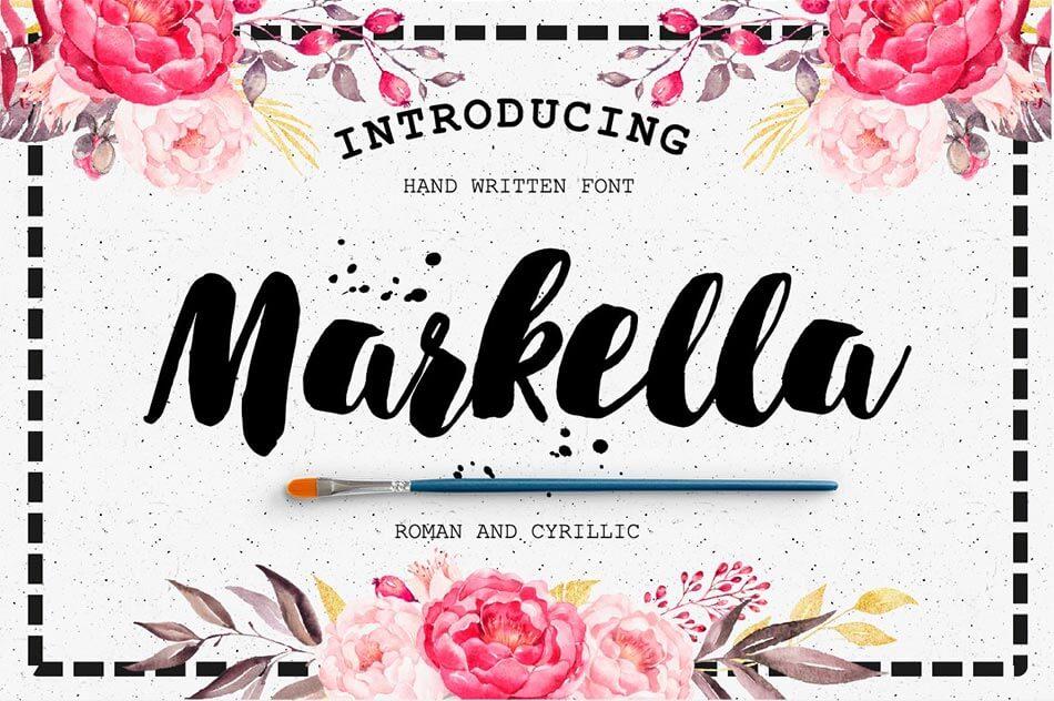 Font Markella