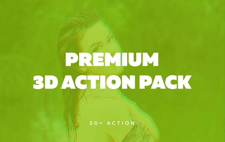 Premium 3D Action Pack (20+ Action)