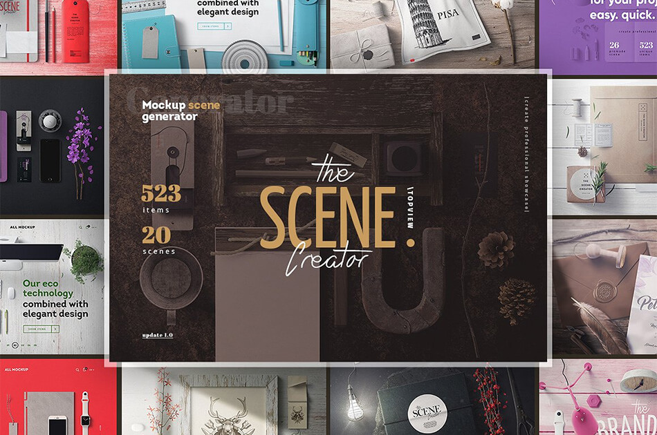 The Scene Creator. Topview