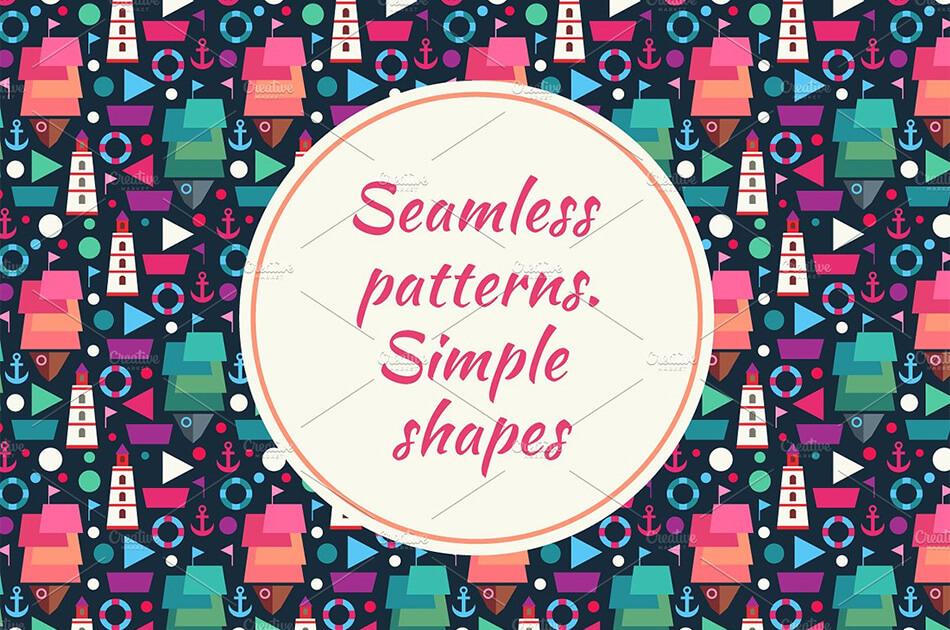 Decorative Toys Seamless Patterns