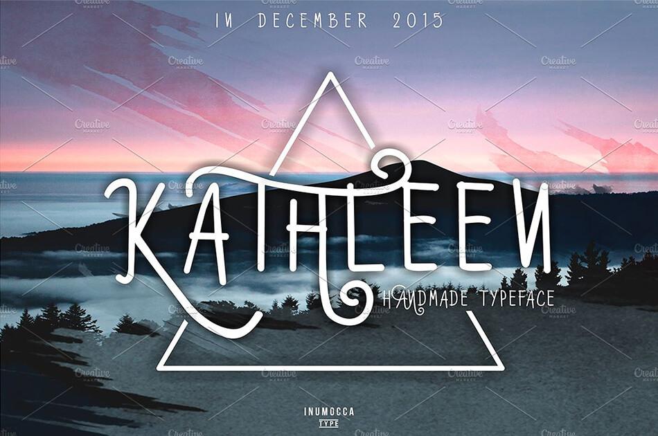 Kathleen Typeface
