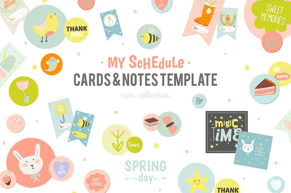 Cute Planners, Cards, And Stickers