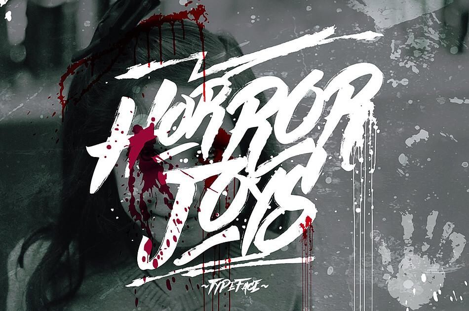 Horror Joys Typeface